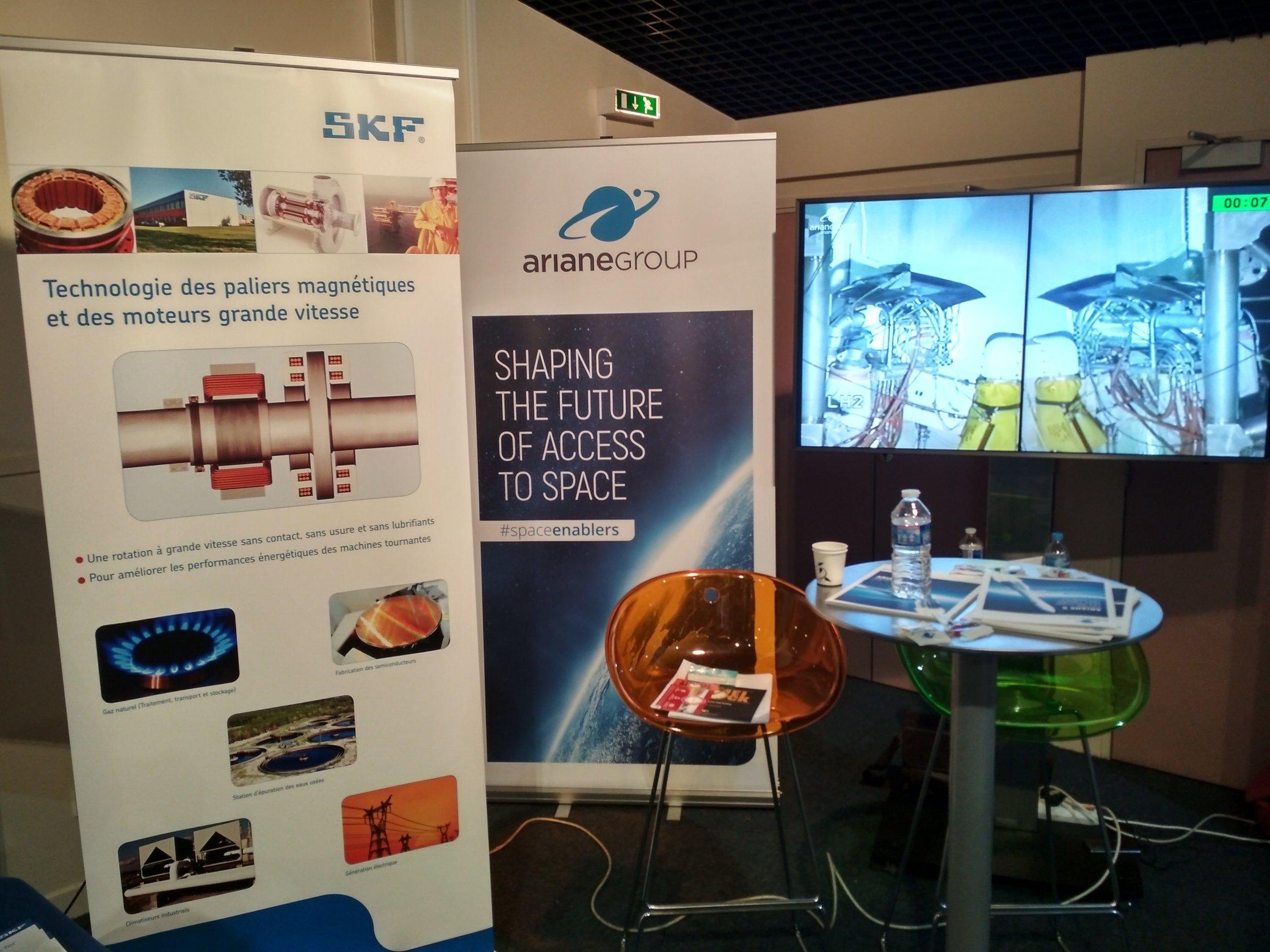 ArianeGroup et SKF