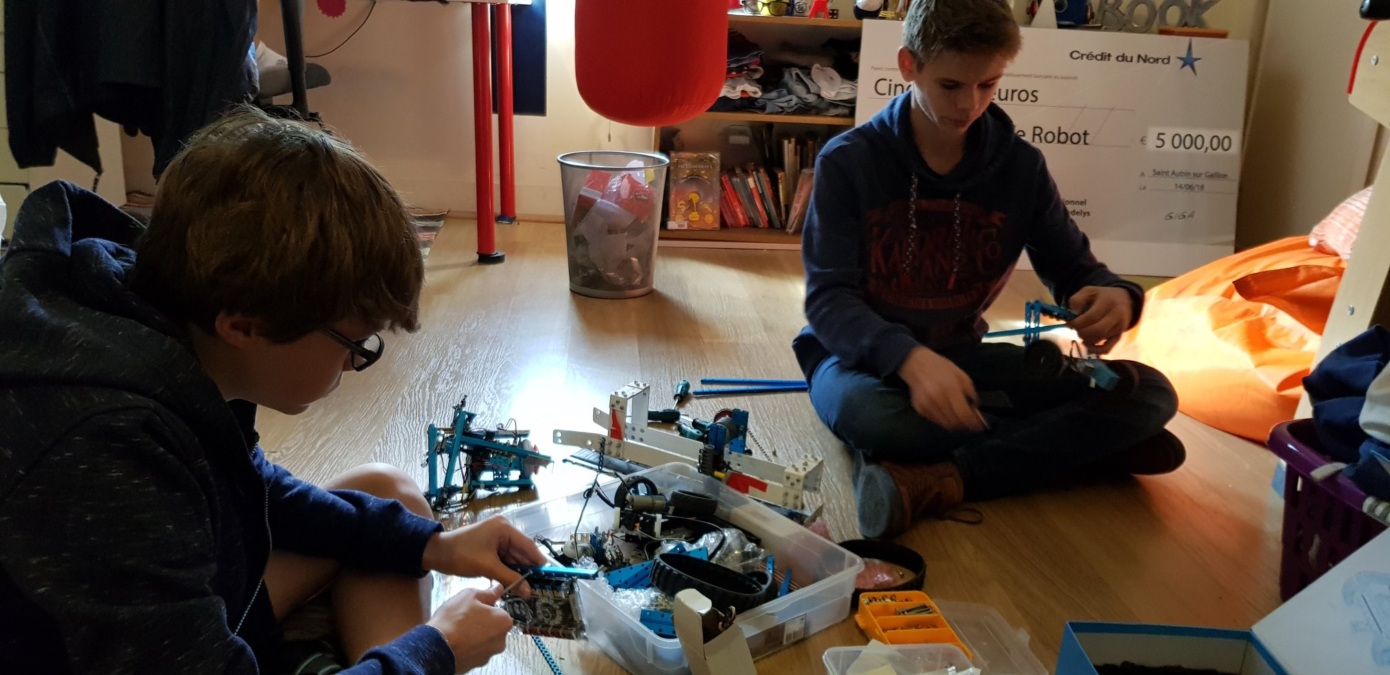 Prototype de robot autonome