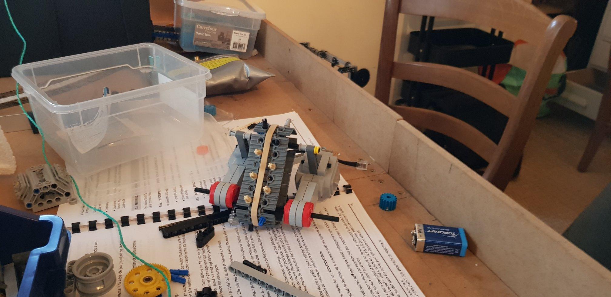 Prototype en Lego